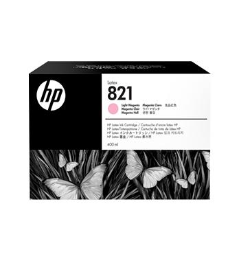 Cartouche d'encre HP Latex 821 -Magenta clair 400 ml