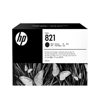 Cartouche d'encre HP Latex 821 -Noir 400 ml