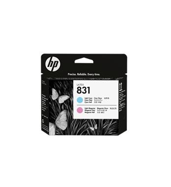 Tête d'impression HP 831 CYAN CLAIR & MAGENTA CLAIR